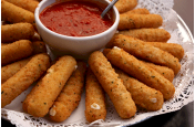 BEER BATTERED BUFFALO-STYLE JACK & BLUE CHEESE STICKS